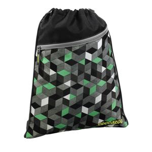 Sportovní pytel na záda CoocaZoo - RocketPocket - Crazy Cubes