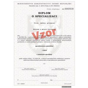 Diplom o specializaci