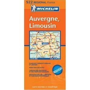 Francie - MI522 - Auvergne,Limousin 1:275