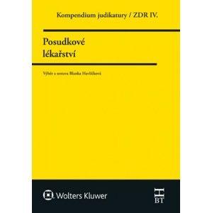 Kompendium judikatury 4. díl, Posudkové lékařství - Blanka Havlíčková