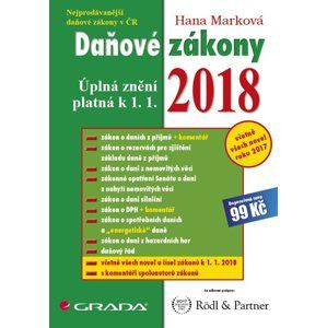 Daňové zákony 2018 - Marková Hana