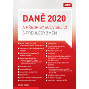 Daně 2020 a předpisy související s přehledy změn