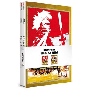 Boj o Řím komplet 2 DVD - neuveden