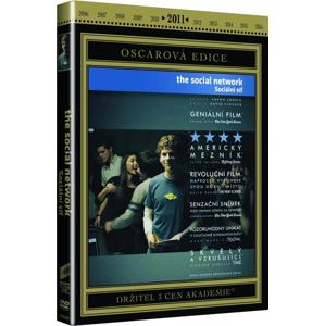 DVD The Social Network - Sociální síť - David Fincher