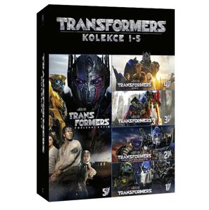 5DVD Transformers kolekce 1-5