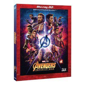 Avengers: Infinity War 2Blu-ray 3D+2D - Limitovaná sběratelská edice