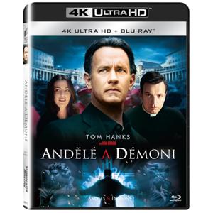 Andělé a démoni 2Blu-ray UHD+BD