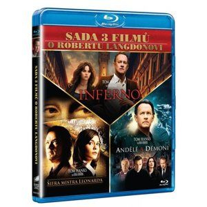 Dan Brown kolekce 3 Blu-ray - Ron Howard