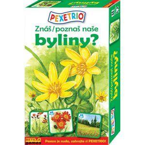 Pexetrio - Znáš naše byliny ?