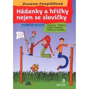 Hádanky a hříčky nejen se slovíčky - Pospíšilová Zuzana