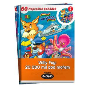 Willy Fog: 20 000 mil pod mořem kolekce 4 DVD