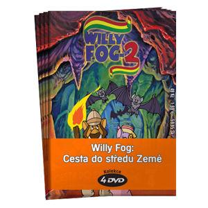 Willy Fog: Cesta do středu Země kolekce 4 DVD