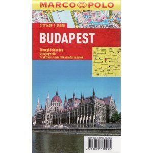 Budapešť -  pl. MP 1:15 000