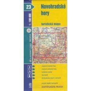 Novohradské hory - mapa KP č.23 - 1:100t