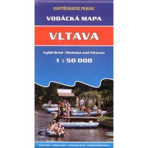 Vltava - vodácká mapa KP - 1:50t /Vyšší Brod - Hluboká nad Vltavou/