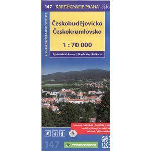 Českobudějovicko, Českokrumlovsko - cyklo KP č.147 - 1:70t