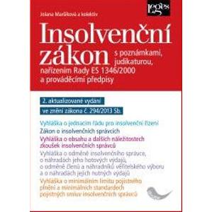 Insolvenční zákon - 2. vydání - Jolana Maršíková a kolektiv