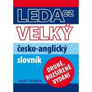 Velký česko-anglický slovník - Fronek Josef