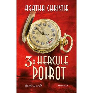3x Hercule Poirot - Christie Agatha