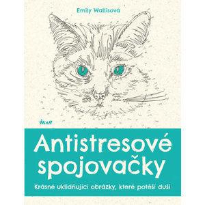 Antistresové spojovačky - Krásné uklidňující obrázky, které potěší duši - Wallisová Emily