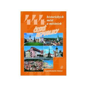 444 historických měst a městeček České republiky - David Petr