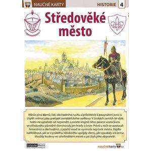 Středověké město - Naučná karta - neuveden