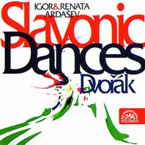 Slovanské tance pro čtyřruč.klavír - CD - Dvořák Antonín