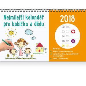 Nejmilejší kalendář pro babičku a dědu 2018 - Kopřivová Monika