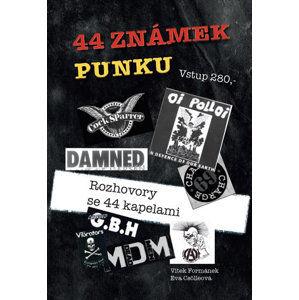 44 známek punku - Formánek Vítek, Csölleová Eva,