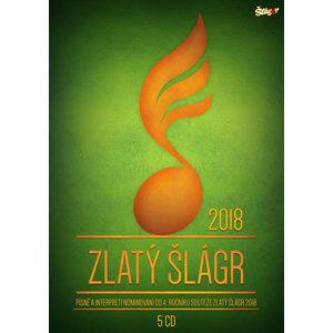Zlatý Šlágr 4. ročník Nominace - 5 CD - neuveden