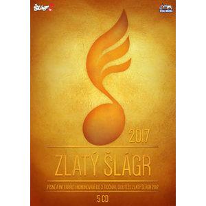 Zlatý Šlágr - 3. ročník nominace 2017 - 5 CD - neuveden