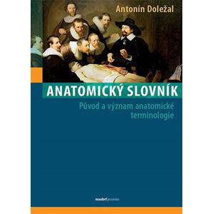 Anatomický slovník - Původ a význam anatomické terminologie - Doležal Antonín