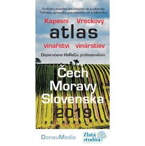 Kapesní atlas vinařství/Vreckový atlas vinárstev - Čech, Moravy - Slovenska 2019 - neuveden