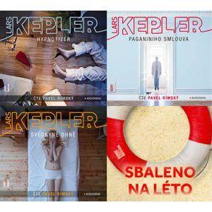 Kepler - CDmp3 (komplet Hypnotizér, Paganiniho smlouva, Svědkyně ohně) - Kepler Lars