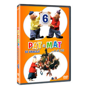 Pat a Mat 6 DVD - neuveden