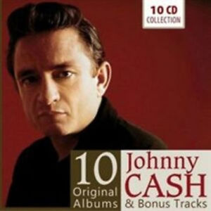 Johny Cash - 10 Original Albums & bonus tracks - 10 CD - Cash Johnny