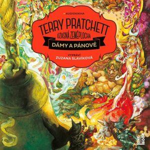 Dámy a pánové - Úžasná zeměplocha - 2 CD (Čte Zuzana Slavíková) - Pratchett Terry