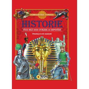 Historie - 1000 otázek a odpovědí - neuveden