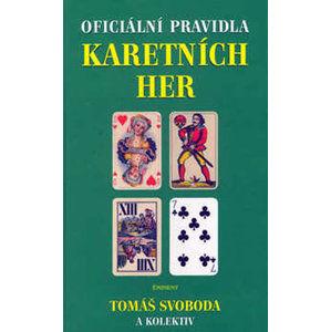 Oficiální pravidla karetních her - kolektiv