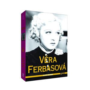 Věra Ferbasová - Zlatá kolekce - 4DVD - neuveden